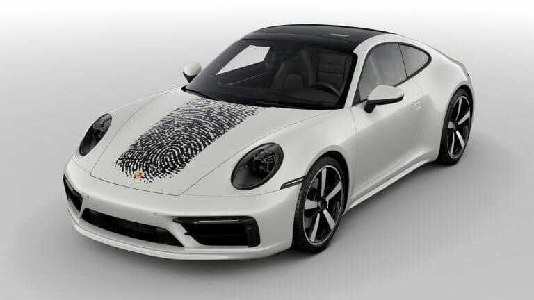 Porsche will put your fingerprint on your 911