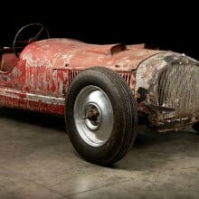 Restoration begins on Mussolini's Alfa 6C 1750 SS