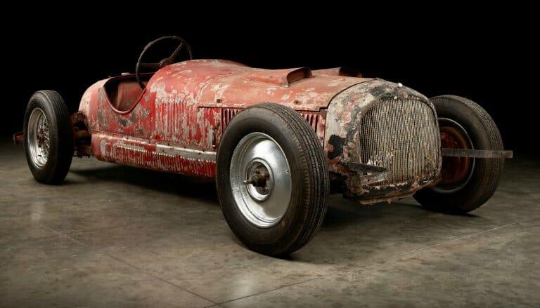 Restoration begins on Mussolini's Alfa 6C 1750 SS