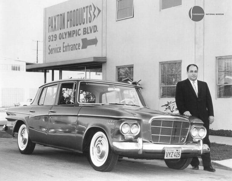 The first muscle car? How about a Studebaker!