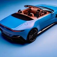Aston Martin unveils Vantage Roadster