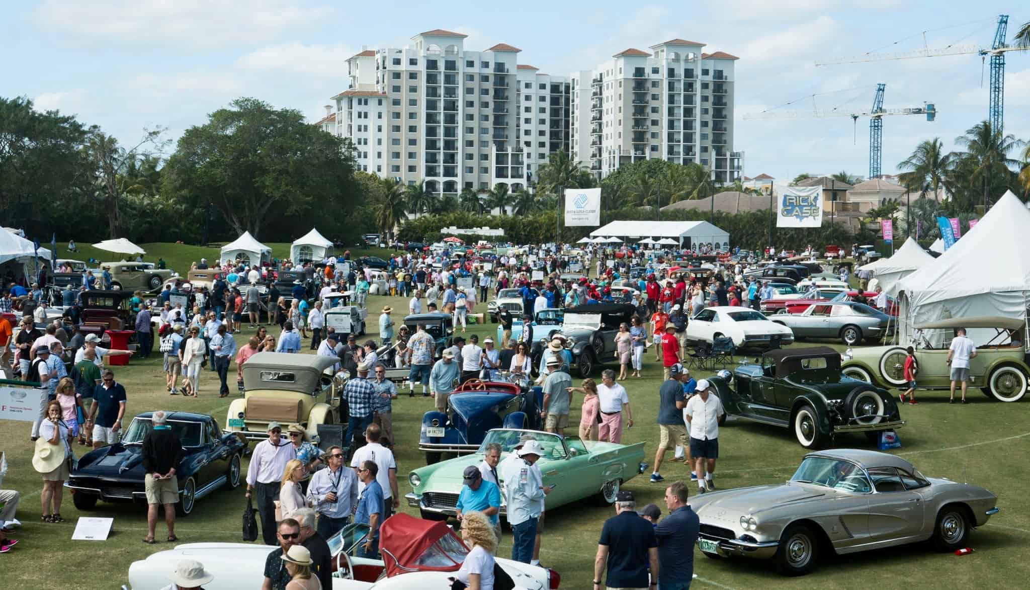 The scene at the 14th annual Boca Raton Concours d'Elegance | Boca Raton Concours photos
