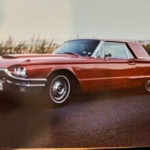 Dad's true love was his Thunderbird, even though he tried to trade it away