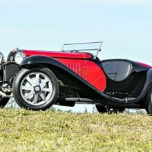 Supercharged 1931 Bugatti roadster from professor's estate at Bonhams