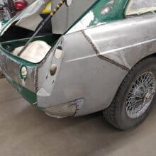 Andy's MGB GT restoration project resumes