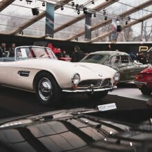 Mid-century sports cars dominate RM Sotheby's Paris auction