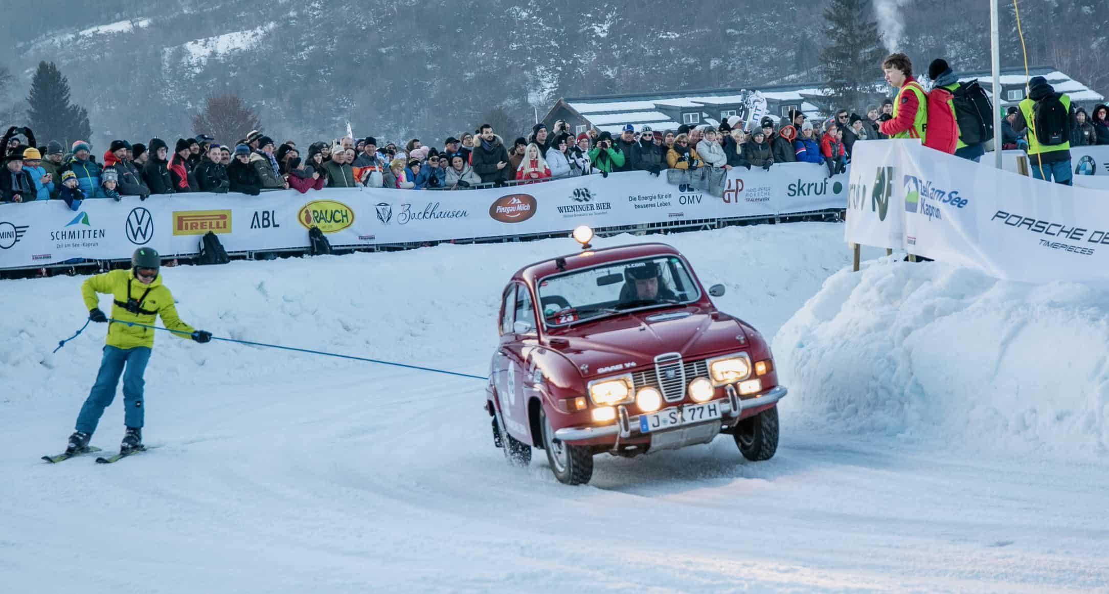 Ice racing, Skijoring among Austrian ice racing highlights, ClassicCars.com Journal