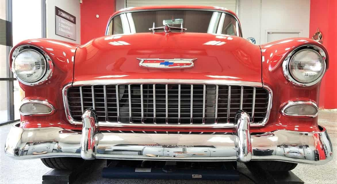 chevy, Plain but not simple, 1955 Chevy 150 business coupe resto-mod, ClassicCars.com Journal
