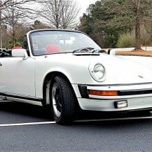 One-year-only model, 1983 Porsche 911SC Cabrio, and priced affordably