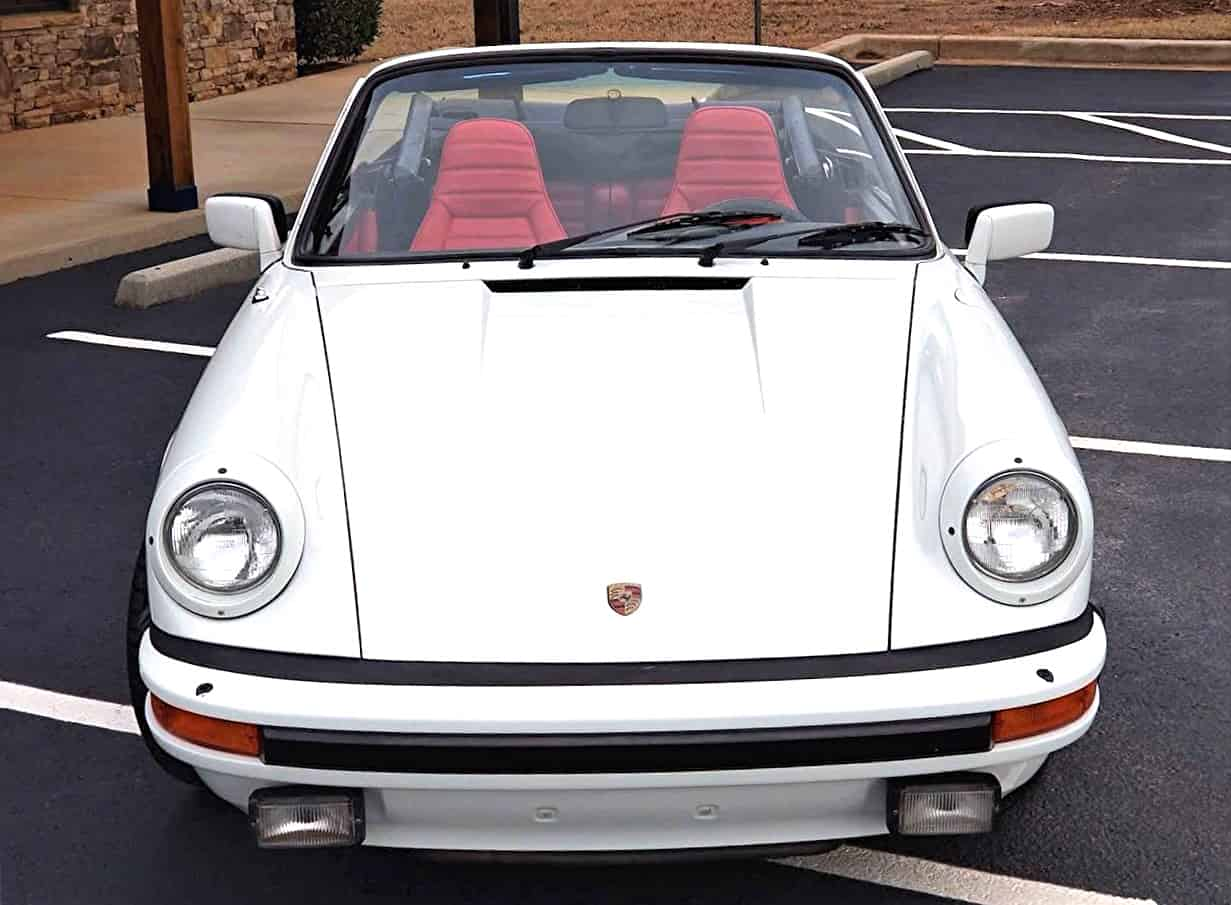 porsche, One-year-only model, 1983 Porsche 911SC Cabrio, and priced affordably, ClassicCars.com Journal