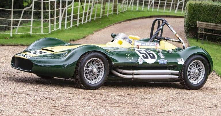 1956 Lister-Maserati sports racer tops Bonhams sale