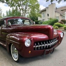 Customized '41 Mercury was built for Hot August Nights