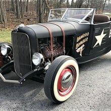 Retro roadster 1932 Ford hot rod evokes era of dry-lakes racing
