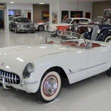 '53 Corvette driven only 5,800 miles