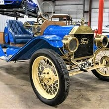 Brass Era cool, 1914 Ford Model T Speedster