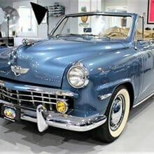 No April Fool: 1949 Studebaker convertible has become affordable