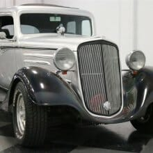 Master of the universe? 4-door street rod has style (and air conditioning)