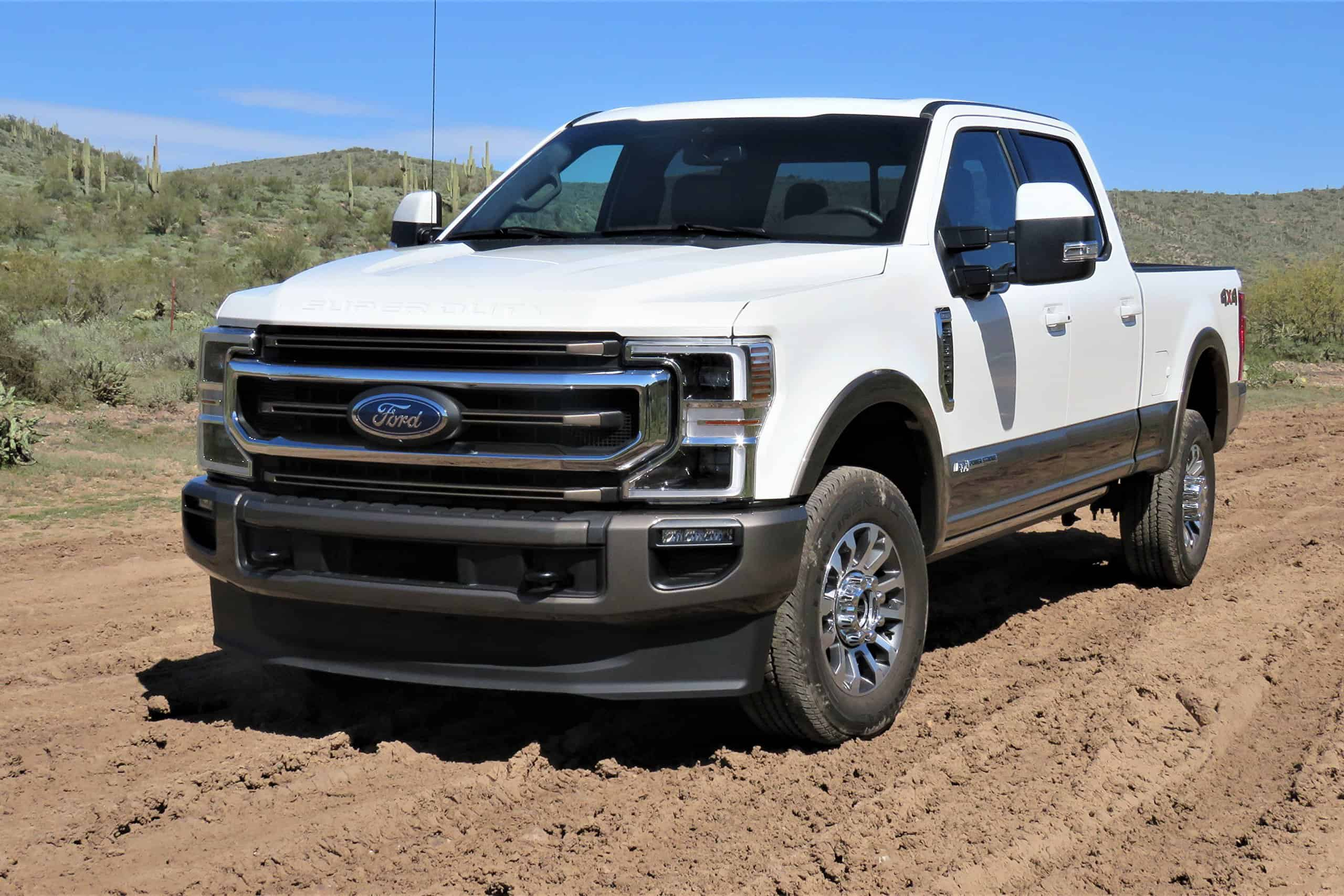 2020 Ford F350 Super Duty History