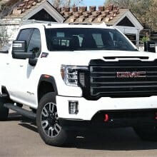 Massive 2020 GMC Sierra 2500 HD gets AT4 off-road gear