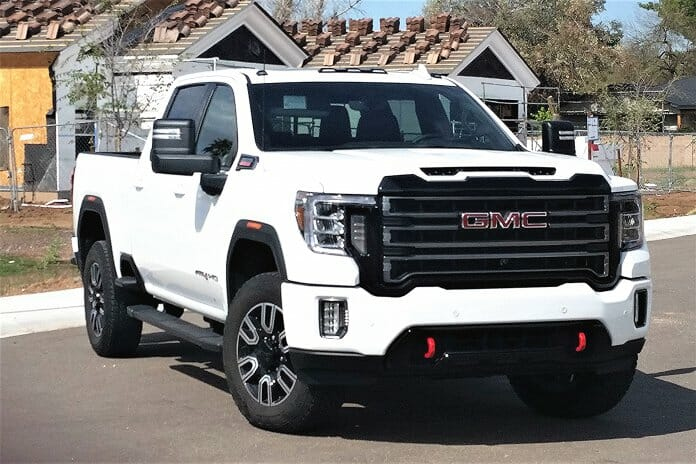 massive 2020 gmc sierra 2500 hd gets at4 off-road gear