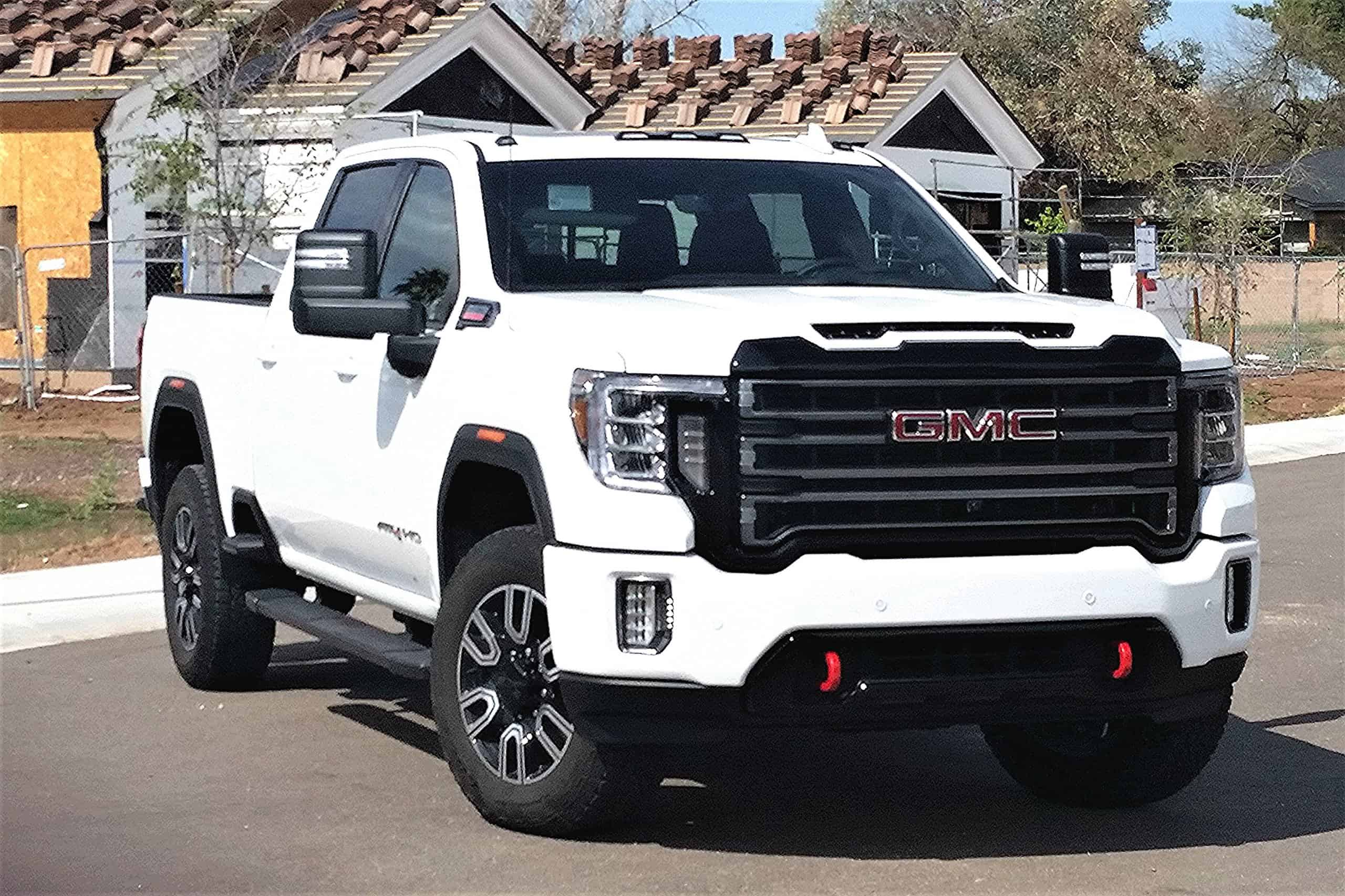 Massive 2020 Gmc Sierra 2500 Hd Gets At4 Off Road Gear