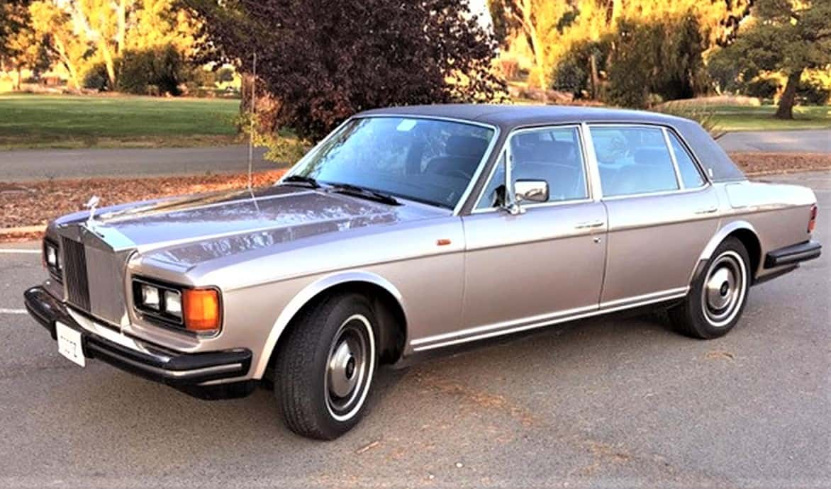 Sublime Isolation 1984 Rolls Royce Silver Spur To Whisk You Away