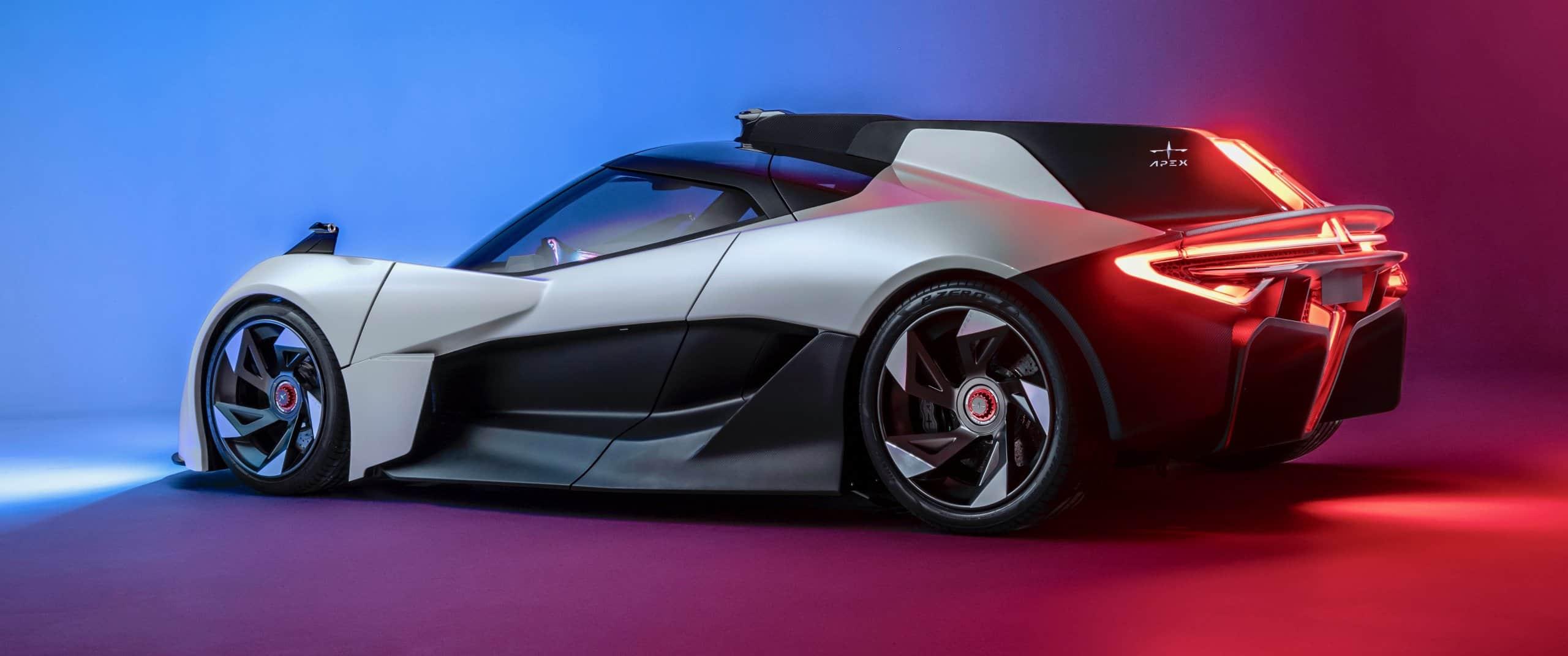 Apex, Apex unveils its electric-powered sports car, ClassicCars.com Journal