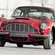 Vantage point: Aston Martin marks 70 years of its most-powerful models