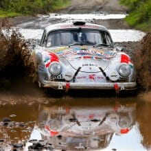 Around the world in a Porsche 356, woman challenges all 7 continents