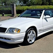 Fair-weather friend 2000 Mercedes-Benz SL500