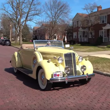 Driven on Video: 1936 Packard Model 120B