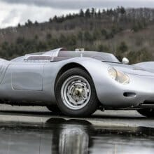 Rare 'giant killer' 1959 Porsche 718 RSK Spyder consigned for Bonhams