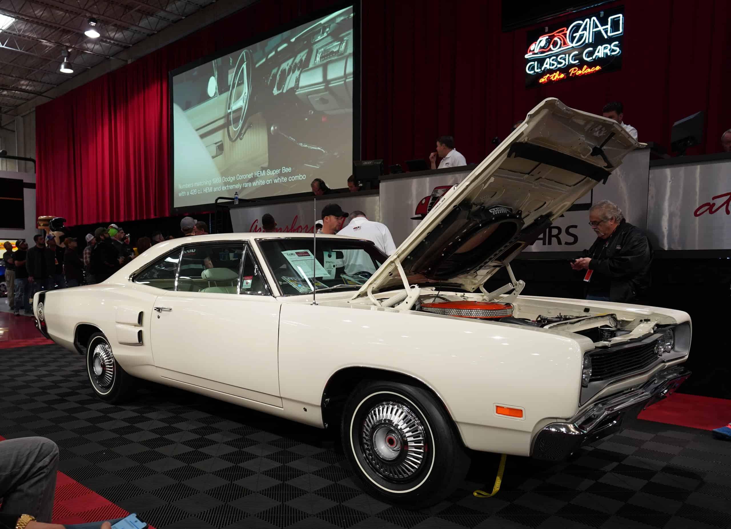 '69 Dodge Super Bee tops North Carolina auction