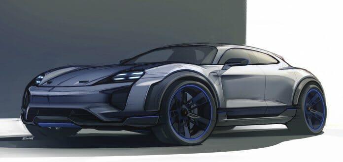 Automotive Design Porsche Mission E