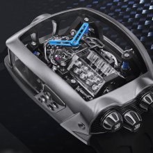 Watch features Bugatti 'engine' with moving parts