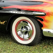 Pick of the Day: 1950 Mercury custom that's fully inflamed