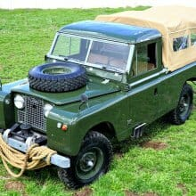 'James Bond' driven 1959 Land Rover