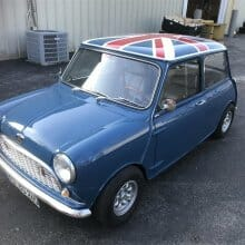 Featured listing: Big Impressions – 1967 Austin Mini Mark ll