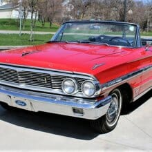 Pick of the Day: Restored 1964 Ford Galaxie 500 XL convertible