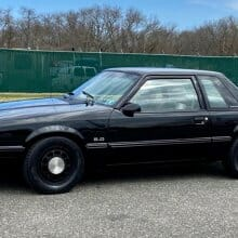Pick of the Day: Former police  Mustang in all-black with 5 speed