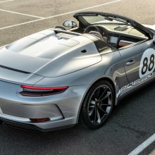 Porsche 991 Speedster online sale raises $1 million for United Way