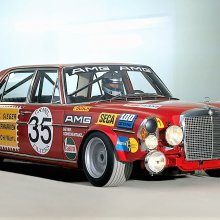 Mercedes Benz AMG got its start with the 'Red Pig' race car