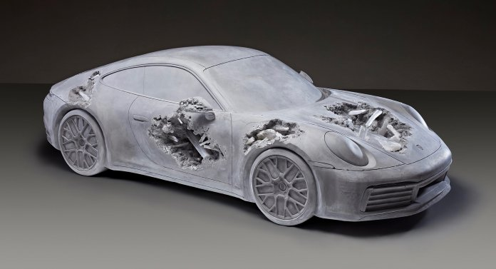 Eroded Porsche