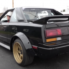 Casey's 80s Garage: RADwood ready MR2 build