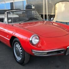 Pick of the Day: Shapely, sporty 1967 Alfa Romeo Duetto Spider