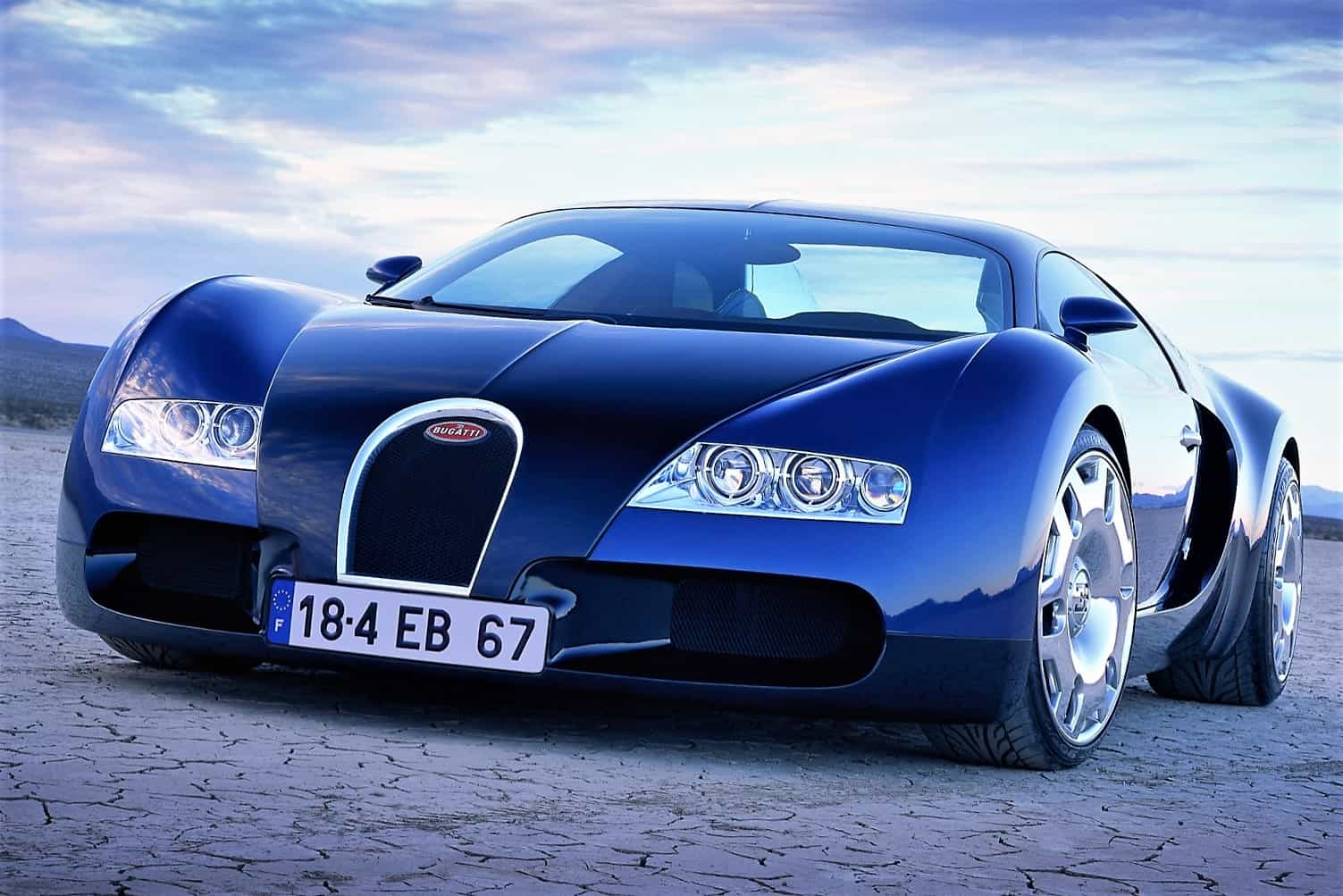 Bugatti Veyron Started Life As 18 Cylinder Sketch On An Envelope