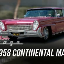 Jay Leno goes land yachting in a 1958 Continental Mark III