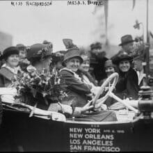 Seal Cove remembers cross-country drive to promote women's suffrage