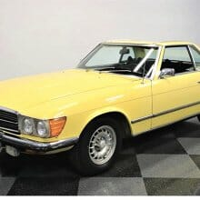 Super right, 1973 Mercedes 450SL
