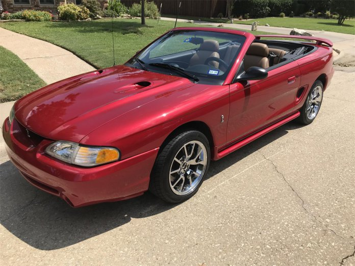 1996 Ford Mustang Cobra SVT Convertible